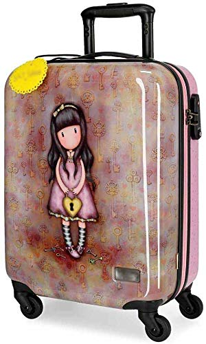 The Bus Luggage with The Baggage Box with 4 Multi-Directional Wheels, Easy to Move,Coffre de cabine