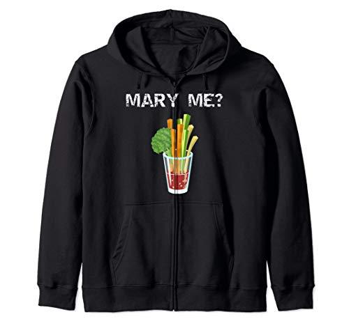 Mary Me Bloody Mary Lustiger Brunch Entwurf Kapuzenjacke