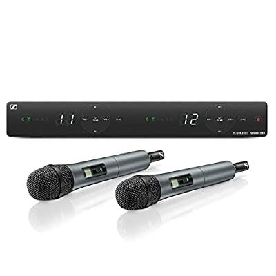 Sennheiser XSW 1-825 DUAL-A Channel Wireless Microphone System by Sennheiser