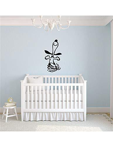 wandaufkleber sterne grau rosa wandaufkleber baum baby Kinderreim Wandtattoo Snoopy für Kinderzimmer Kinderzimmer