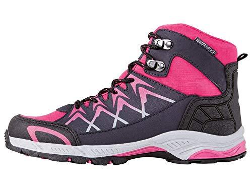 Crivit Mädchen Trekking Schuhe Sneaker Outdoor Sport Freizeit Schuhe Warterproof (35)