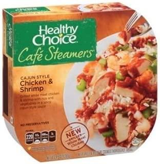 Healthy Choice Cafe Steamers Cajun Chicken Shrimp, 9.9 Ounce -- 8 per case.