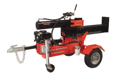Best Buy! Log Splitter, 34 Ton, 25 In. Max. Log Dia.