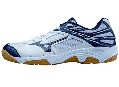 Mizuno -Zapatilla Lightning Star Z Jr White-Blue Talla - 34.5