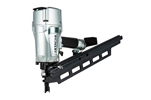 Hitachi NR83A5 3-1/4' Plastic Collated Framing Nailer with Rafter Hook