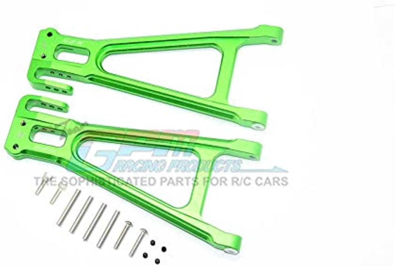 Traxxas ERevo 2.0 VXL Brushless (860864) Upgrade Parts Aluminum Rear Lower Suspension Arm  1Pr Set Green