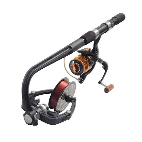 Yinrunx Fishing Line Winder Spooler Reel Line Spooler ,Portable Machine Spinning Reel System Spinning Line Reel Spool Fishing Reel Spooler