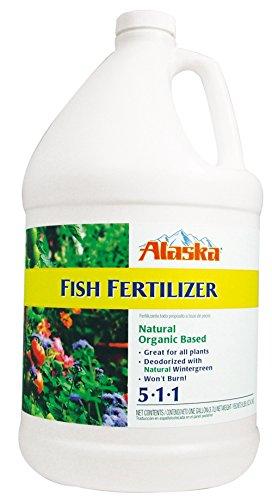 Alaska Fish Emulsion Fertilizer