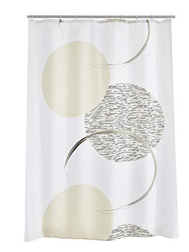 RIDDER 47390S-350 Duschvorhang Textil ca. 180x200 cm Sophie