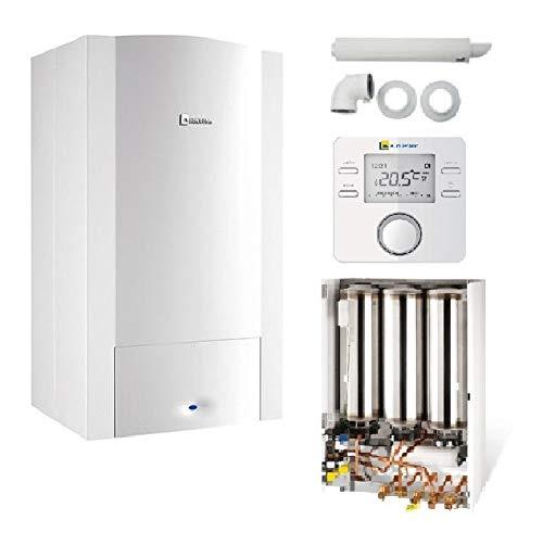 Caldera pared Gas odealis GVT C 24–2m Condens Elm leblanc Complete (dosseret + ventosa + termostato Elm CR100)