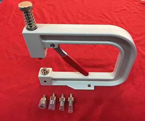 Giorgetti Strass - Máquina aplicadora de strass para fijar perlas, cuentas con remache, pines redondos, decoración manual de objetos de piel, bolsos, zapatos, telas