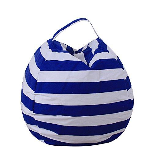 "THEE - Sacco portaoggetti per bambini, Tessuto, Bleu Foncé, 26""/Large"