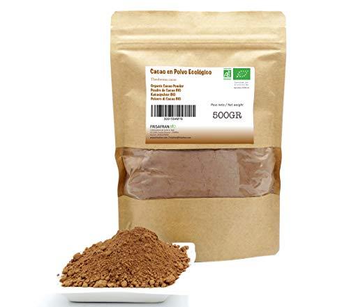 FRISAFRAN - Cacao Ecológico (Cacao en Polvo, 500Gr)