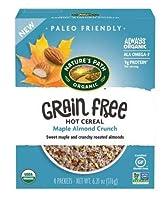 Nature's Path Grain Free Cinnamon Apple Oatmeal ネイチャーズパスグレインフリーメープルアーモンドオートミール170g [並行輸入品]