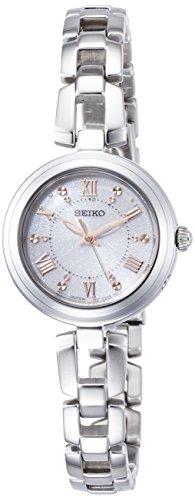 [セイコーウォッチ] 腕時計 セイコー セレクション ソーラー電波 ブレスレットタイプ ホワイト文字盤 SWFH089 レディース シルバー