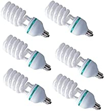 6pcs 135w Energy Saving Led E27 Light Bulbs 5500K Photography Studio Daylight Lamp