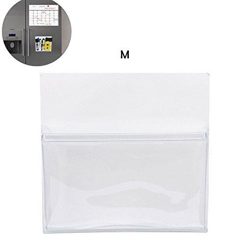 Abimars Magnetische potloodhouder, koelkast-opbergvak voor balpennen, potloden, marker, sleutels, notitiepapier – ideaal voor whiteboard, lod, kast, containers en alle andere magnetische oppervlakken. M