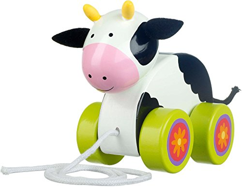 Orange Tree Toys Vaca Arrastre