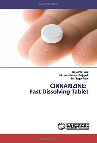 CINNARIZINE: Fast Dissolving Tablet