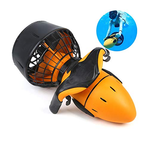 Scooter Subacuático, Scuba Sea Scooter, Underwater Sports Thruster, Impermeable Sea Sea Scooter Eléctrico Dual Speed Underwater Propeller Diving Pool Scooter