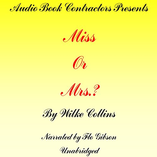 Miss or Mrs.? audiobook cover art