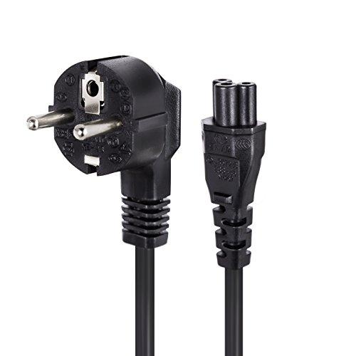 Prolinx PW-X3 - Cable de alimentación trébol para Cargador de portátiles (1.5...