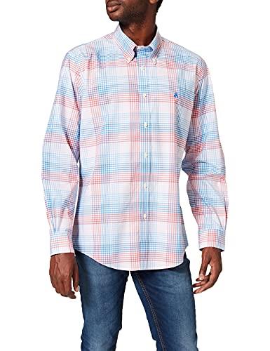 Brooks Brothers Camicia Casual Button Down Regent Fit, Quadretti, XL...