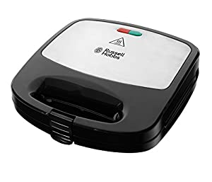 Russell Hobbs 4008496937660 RU-24540 3-in-1 Sandwich/Panini and Waffle Maker, 760 W, Black