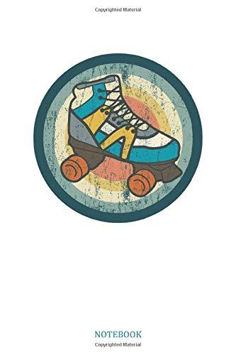 Notebook: Rollschuhe Geschenk Für Skater Girl Dina5 Blanko Notizbuch Tagebuch Planer Notizblock Kladde Journal Strazze