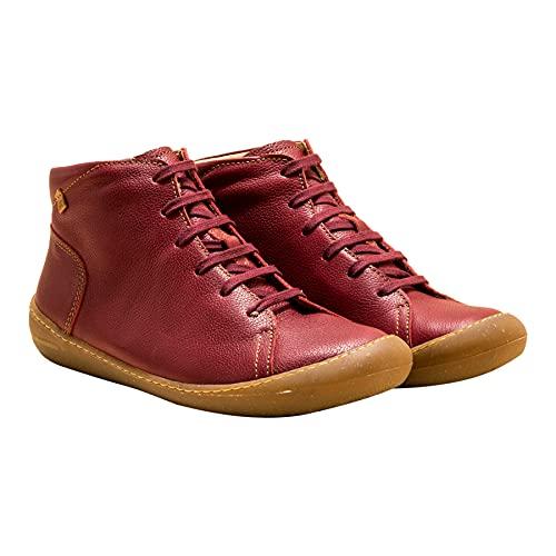 El Naturalista Unisex-Adulto Calzado cómodo PAWIKAN, Mujer,Hombre Botines,Plantilla Desmontable,Zapatos Bajos y cómodos,Cereza,40 EU / 6.5 UK