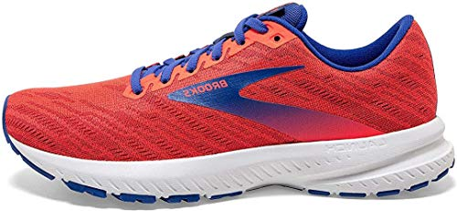 Brooks Damen Launch 7 Laufschuh, Red, 37.5 EU