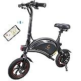 Kugoo B1 Bicicleta Eléctrica Plegable para Adultos E-Bike, Soporte de...