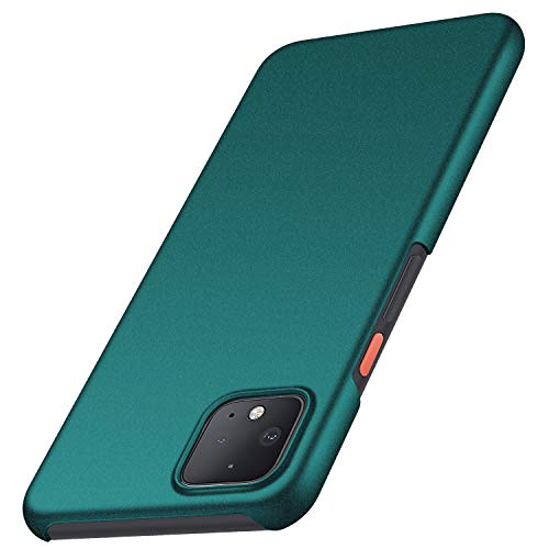 Anccer Colorful Series for Google Pixel 4 Case Ultra-Thin Fit Premium PC Material Slim Cover for Pixel 4 (Gravel Green)