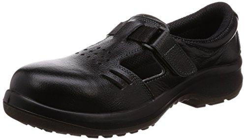 [ミドリ安全] 安全靴 JIS規格 通気タイプ 短靴 プレミアムコンフォート PRM205 メンズ ブラック 24.5cm 3E