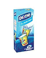 Dixie Bathroom Cups, Expressions Design, 5 oz - 100 ea (Colors May Vary) by Dixie