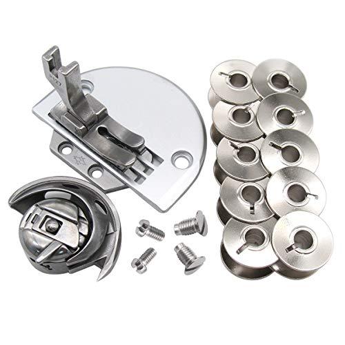 CKPSMS Marca -#KP-SK19 19 piezas compatibles con Singer 31-15 331K, 431D CONSEW 30 Heavy Duty máquina de coser