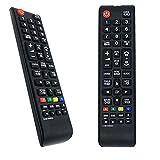 VINABTY AA59-00496A Mando a Distancia de Repuesto para Samsung TV televisor LA32D403E2M LE32D400E1W LE40D503F7W UA26D4003BJ UA26D4003BM UE26D4004BW UE32D4003BW UE40D5004BW LA-19D400-E1M LA-40D503-F7M