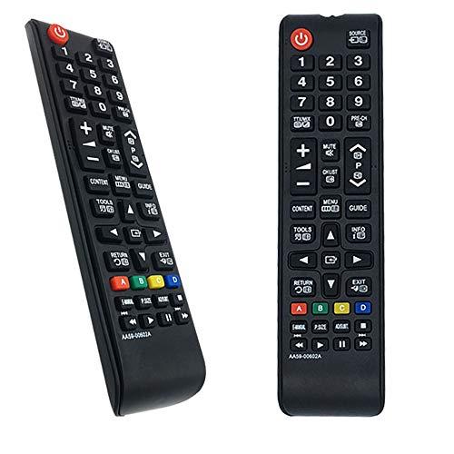Nuovo Telecomando Sostitutivo AA59-00602A per Samsung LCD LED HDTV Smart TV UE40H7000 UE40H7000SLXXC UE40H7000SLXZF UE40H7005SQXXE UE40H7090SVXZG - NO BISOGNO SETUP