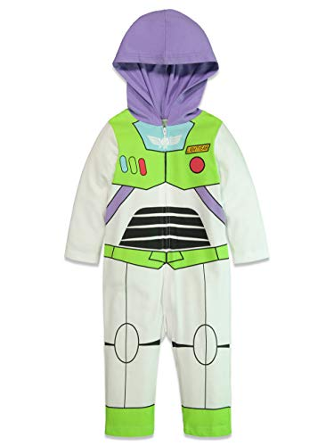 Disney Pixar Toy Story Buzz Lightyear Baby Boy Zip-Up Costume Coverall 3-6 Months