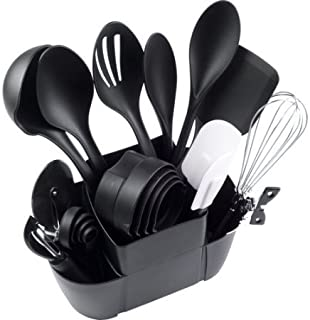 Mainstays Kitchen Set, 21pc, tools, cooking, home, dinning, spoons, salad, container, organizer