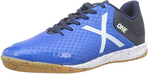 Munich One Indoor, Zapatillas de Deporte Unisex Adulto, Azul (Azul 19), 43 EU