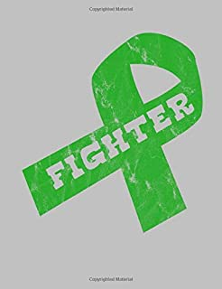 Fighter: Green Ribbon Awareness Notebook 7.44