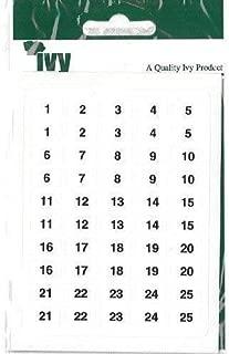 232090 Ivy Etichette bianco 12/mmx18/mm