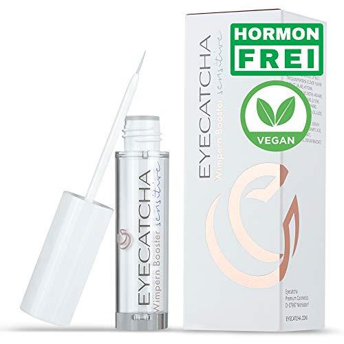 Eyecatcha Sensitive Wimpernserum 3ml für starkes und schnelles Wimpernwachstum – Wimpern Booster vegan mit Biotin und Peptiden für lange und dichte Wimpern – dermatologisch getestet