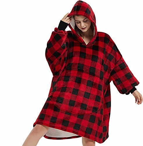 Blanket Sweatshirt, Oversized Soft …