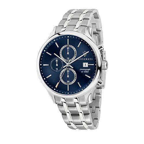 Reloj para Hombre, Colección Gentleman, con Movimiento de Cuarzo y función cronógrafo, en Acero - R8873636001