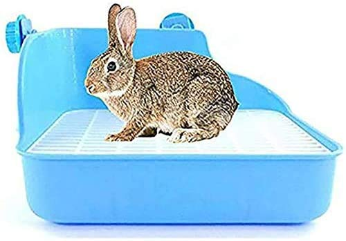 PetKids - Inodoro limpio para animales domésticos, bandeja de arena de esquina...