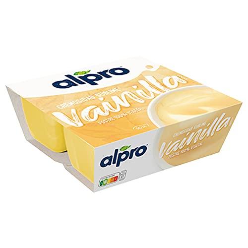 Alpro Dessert di Soia, Vaniglia, 4 x 125g
