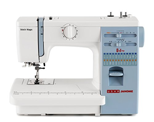 Usha Janome Automatic Stitch Magic 60-Watt Sewing Machine...