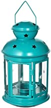 IKEA Rotera Lantern for tealight Indoor/Outdoor Turquoise 8 ¼ 304.524.15